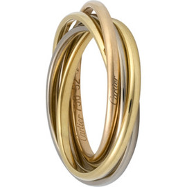 Cartier - trinity ring xxs 5 bands