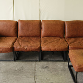 ACME FURNITURE - IRVIN SOFA /OTTOMAN