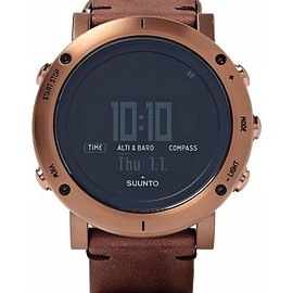 Suunto - Essential Steel and Leather Watch