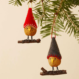 Better Homes and Gardens - Almond Bird Christmas Ornament