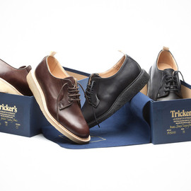 """Tricker's - Tricker's for Norse Projects """"Blucher"""" Shoe"""