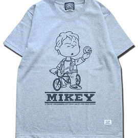 HEADGOONIE - PEANUTS MIKEY T-shirts(SUPER HEAVYWEIGHT)