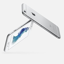 Apple - iPhone 6s Silver 64GB