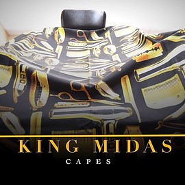 Barbershopconnect.com - King Midas Throne Cape