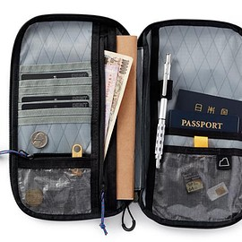 SDR Traveller - Travel Folio - Black