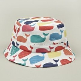 THOM BROWNE - Men's Whale Print Fisherman Hat