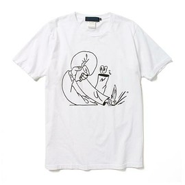 BEAMS T - Printed Pages×BEAMS T / Martin Groch Tシャツ