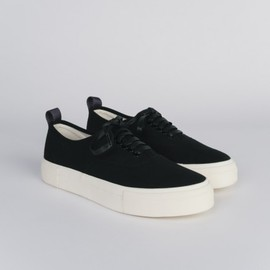 EYTYS - MOTHER Mens Black Canvas Sneakers