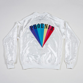 American Apparel - LIMITED EDITION 'TRYING TO BE COOL' IVORY JACKET
