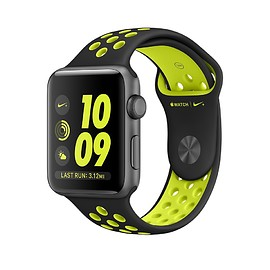 Apple, NIKE - WATCH Nike+ Series 2: Space Gray Aluminum Case