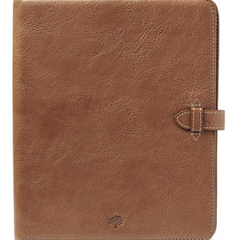 Mulberry - Adjustable iPad 2 Sleeve in Oak Natural Leather