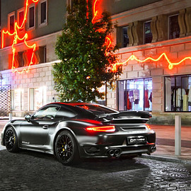 Porsche, 911 Turbo S - DARKNIGHT
