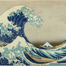 hokusai wave - Great Wave off Kanagawa