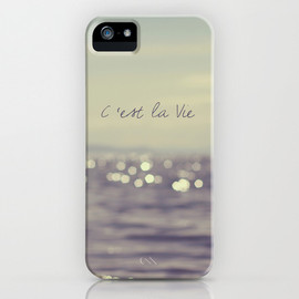 Society6 - C'est la Vie iPhone Case