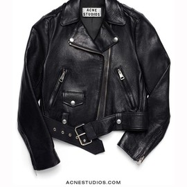 ACNE - LETHER MOTORCYCLE JACKET