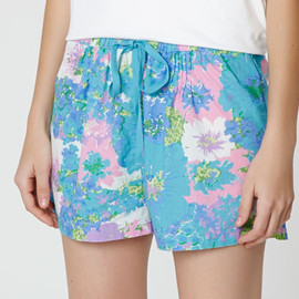 OYSHO - Multi-coloured floral print shorts - OYSHO