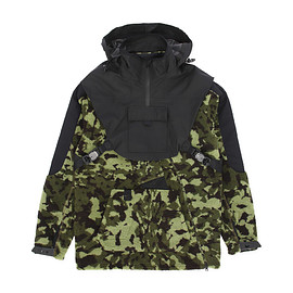 NIKE, NikeLab, MMW - Hooded Fleece Parka Jacket - Black/Camo