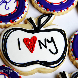 LoneStarsandStripes - I love NY cookie