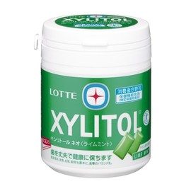 LOTTE - XYLITOL キシリトール ボトル(ライムミント)