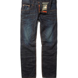 edwin - Sen Slim-Fit Washed Selvedge Jeans