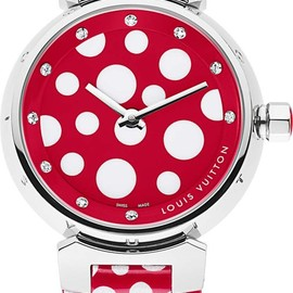 LOUIS VUITTON - Tambour watch by Yayoi Kusama and Marc Jacobs