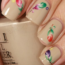 Feather Water Decals
