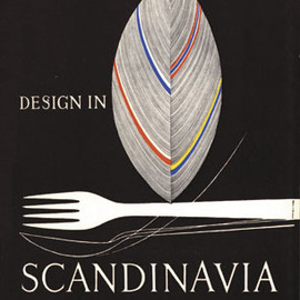"""Design in Scandinavia"" Exhibition Catalog, Book Designed by Tapio Wirkkala"