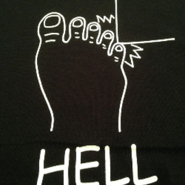 """C"" - HELL Tシャツ"