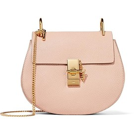 Chloé - Drew small textured-leather shoulder bag