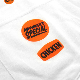 """Manager's Special - """"CHICKEN"""" Pocket T-shirt"""