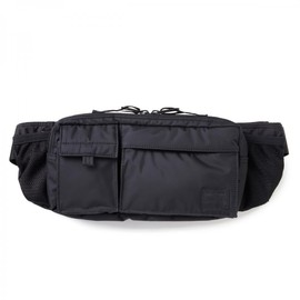 "HEAD PORTER - ""BLACK BEAUTY"" HIP BAG"