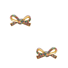 kate spade NEW YORK - SKINNY MINI BOW STUDS