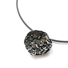 Atelier Hon'ne - Enchanted Moment Necklace - Black & Gold