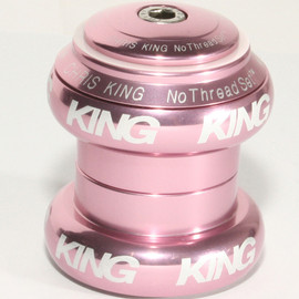 "Chris King - NoThreadset 1 1/8"" PINK"