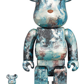 MEDICOM TOY - BE@RBRICK PUSHEAD #5 100% & 400%