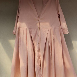 Pink oversized dress - Pink oversized long dress large size Single breasted Asymmetric shirt dress