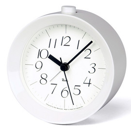 Lemnos - Riki Alarm Clock Grey/White