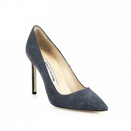 Manolo Blahnik - Denim Pumps