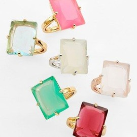 kate spade NEW YORK - cocktail rings