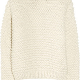 STELLA McCARTNEY - Oversized alpaca-blend sweater