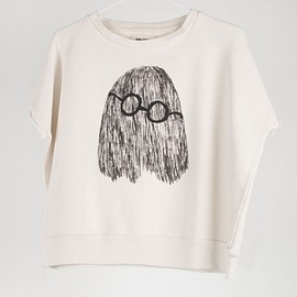 BOBO CHOSES - Clever Ghost Sleeveless Sweatshirt