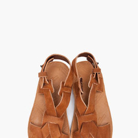 Maison Martin Margiela 22 - MAISON MARTIN MARGIELA Tan Leather sandals