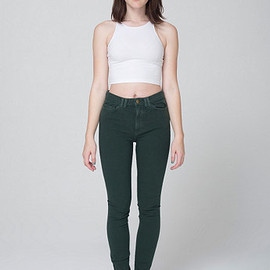 American Apparel - Four-Way Stretch High-Waist Side Zipper Pant