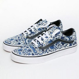 LIBERTY - LIBERTY ART FABRICS × VANS OLD SKOOL FLORAL VINES