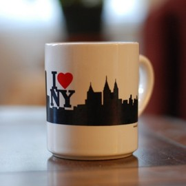 Empire State of Mind vintage NYC mug