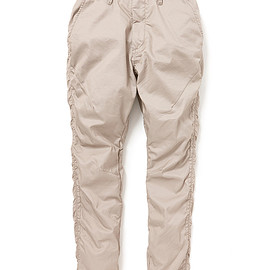 nonnative - ADVENTURER EASY RIB PANTS TAPERED FIT C/P TWILL STRETCH