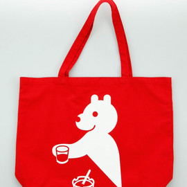 "Publik - ""Rockin' On Your Dime"" Tote by Geoff McFetridge"