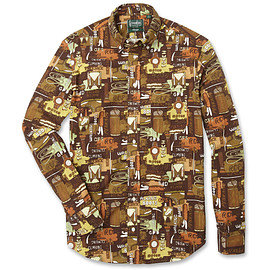 Gitman Vintage - The Classic Button Down - Camping Gear -
