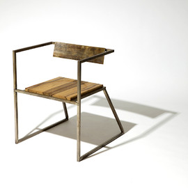 Tamara Codor - DOVETAIL BRASS CHAIR