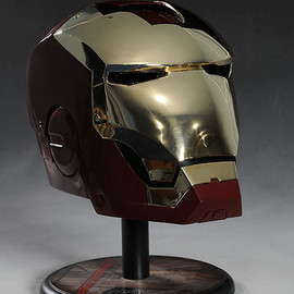 Museum Replicas - Iron Man Mark III helmet 1:1 full size prop replica by Museum Replicas